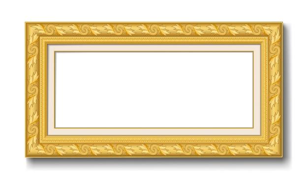 Cornice d'epoca d'oro