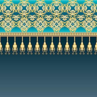 Cornice decorativa in stile vintage.