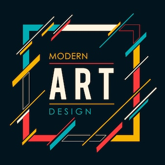 Cornice di arte moderna