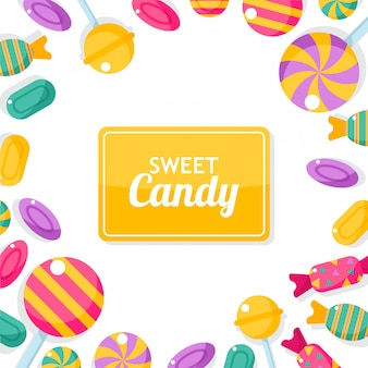 Cornice di caramelle