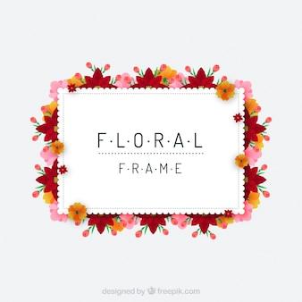 Cornice floreale primaverile