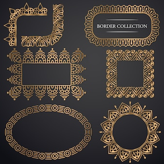Cornice ornamentale art-deco