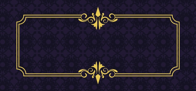 Cornice ornamento europeo