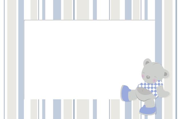 Cornice per foto con design per bambini per neonato