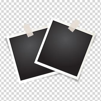 Cornice per foto isolata