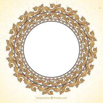Cornice rotonda ornamentali