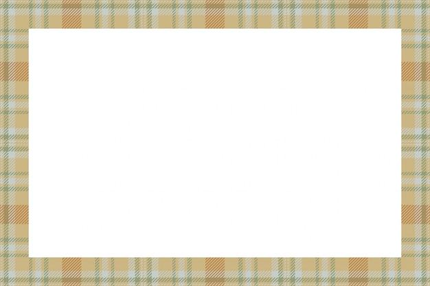 Cornice scozzese scozzese senza cuciture