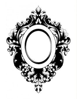 Cornice specchiera barocca vintage