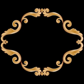 Cornice vintage ornamentale