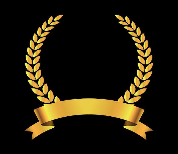 Corona di alloro di lusso