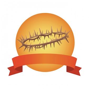 Corona di spine di cristo
