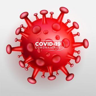Coronavirus covid 3d