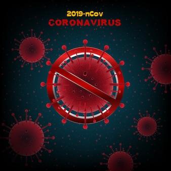 Coronavirus malattia concetto covid-19
