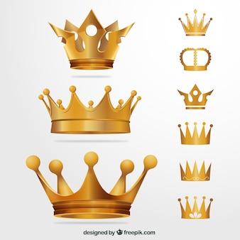 Corone d'oro
