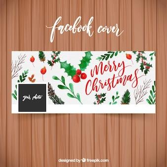 Corone di natale e fiori per facebook