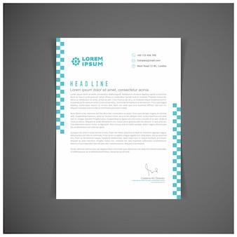 Corporate identity set o di un kit per il vostro business modelli di lettera in formato vettoriale modificabile posto per il testo