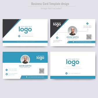 Corporate personal business card design