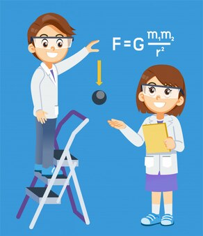 Corso di esperimento gravity science.