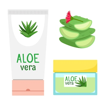Cosmetici biologici all'aloe vera