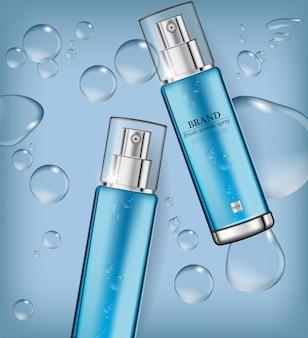 Cosmetici spray idratante per acqua