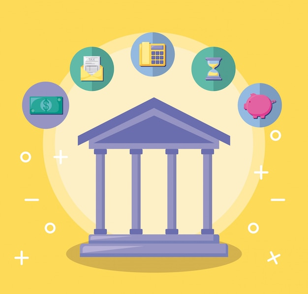 Costruzione di banche con economia e finanza