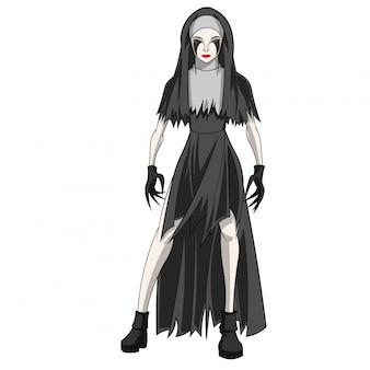Costume personaggio di halloween