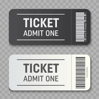 Coupon di invito modello biglietto vuoto.