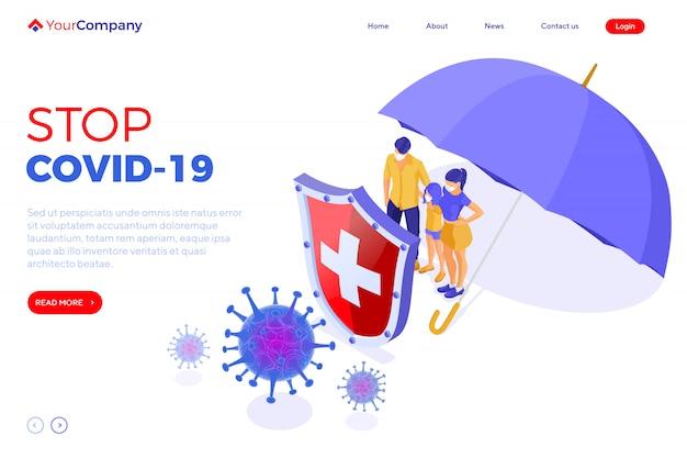 Covid-19 coronavirus stop 2019-ncov
