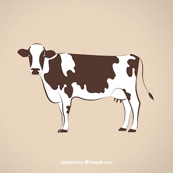 Cow illustrazione