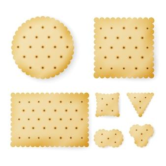 Cracker in diverse forme