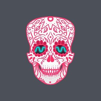 Cranio dettagliato messicano