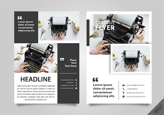 Creative flyer corporate