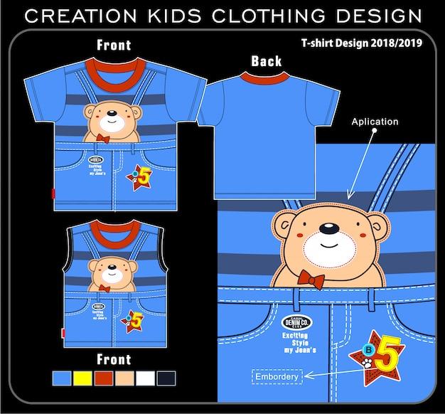 Creazione abbigliamento per bambini