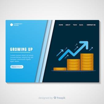 Crescere il modello di pagina di destinazione