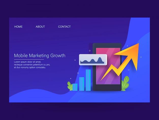 Crescita del marketing mobile