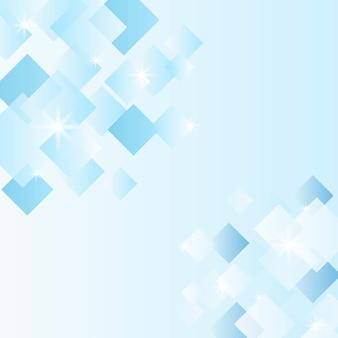 Cristallo blu e bianco con texture di sfondo
