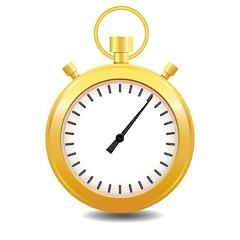 Cronometro colorato oro