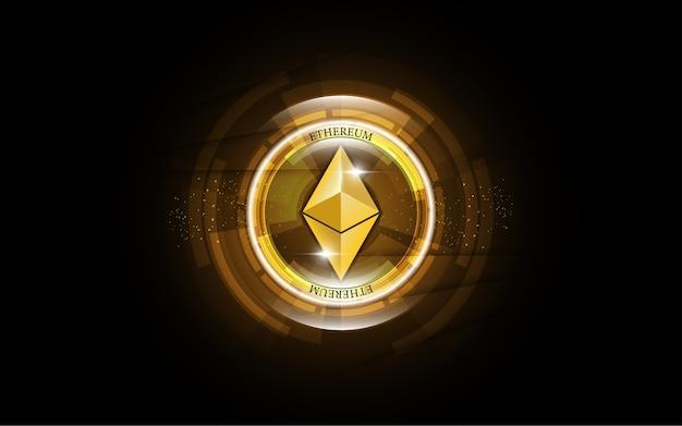 Cryptocurrency blockchain ethereum denaro digitale