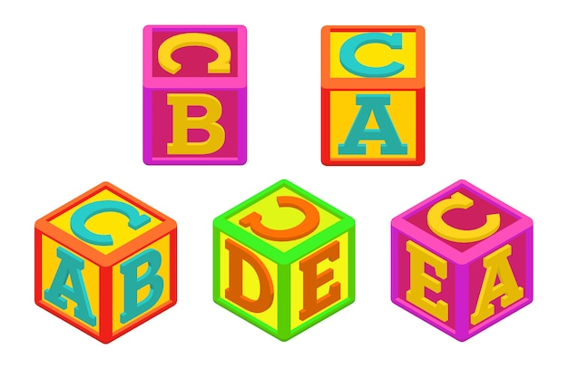 Cubetti alfabeto