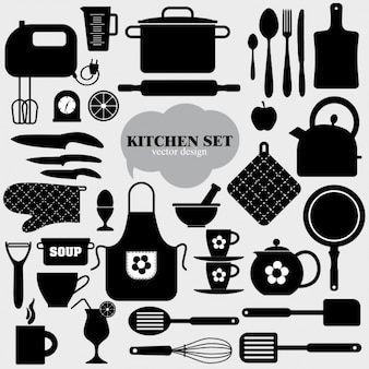 Cucina icona di sfondo