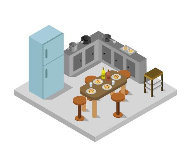 Cucina isometrica
