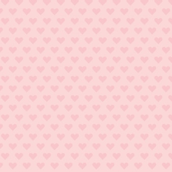 Cuore rosa pattern di sfondo