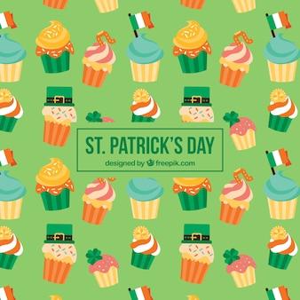 Cupcakes st. modello giornata di patrick