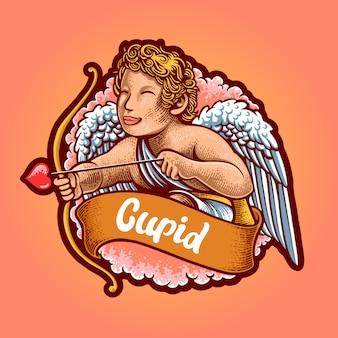 Cupido illustrazione premium
