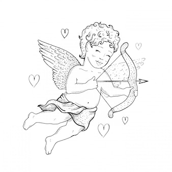 Cupido vintage carino