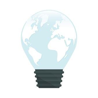 Cura del pianeta bulb rispettoso dell'ambiente