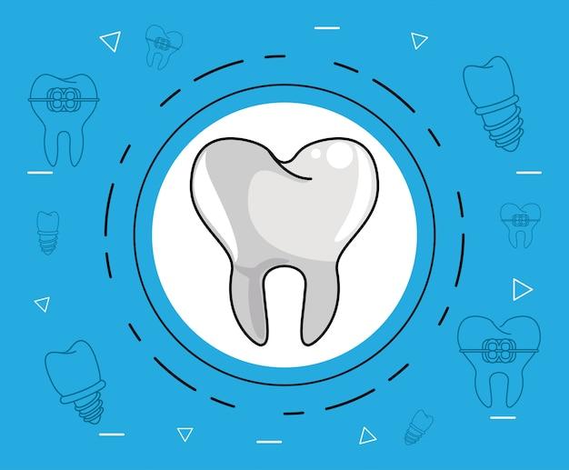 Cura dentale dentale