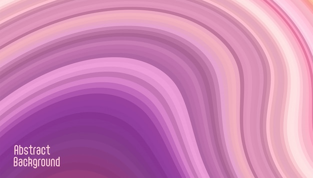 Curva astratta linee morbide sfondo viola