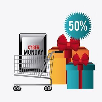 Cyber monday stagione dello shopping