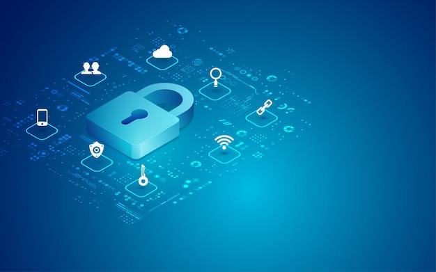 Cyber padlock